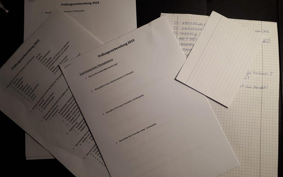 Teil 1 der Abschlussprüfung