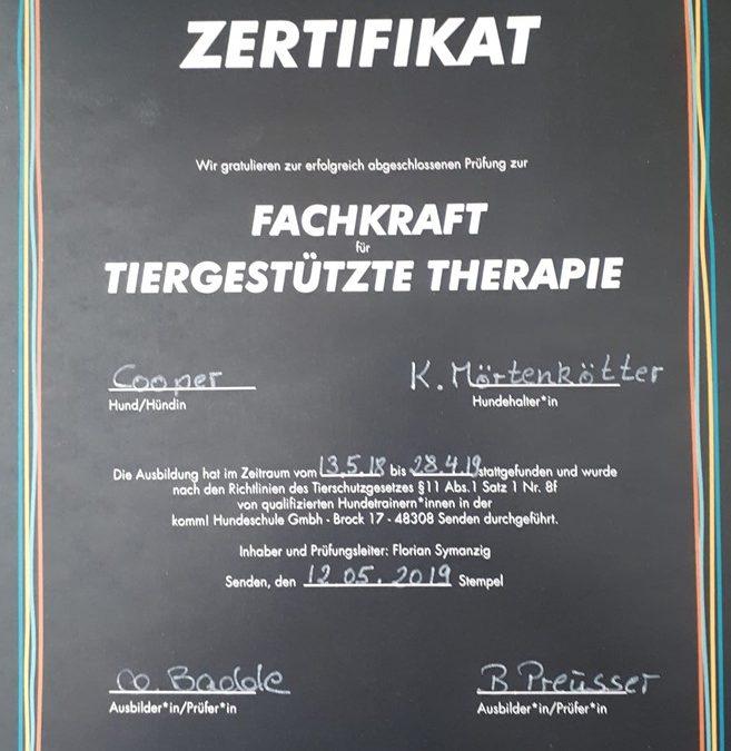 Fachkraft für tiergestützte Therapie